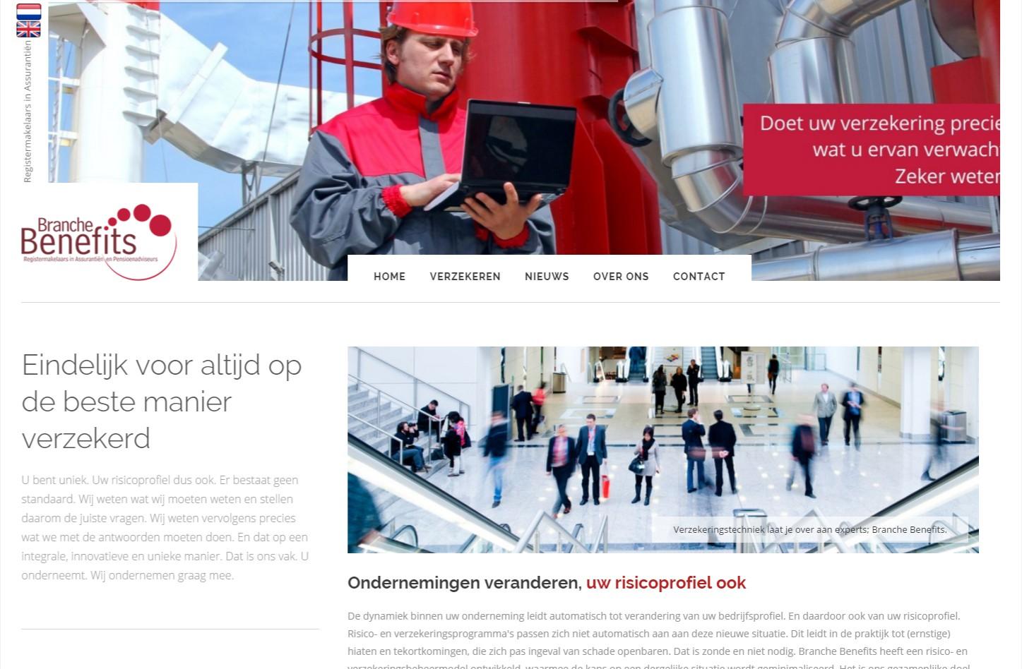 Bekijk de website die vol mooie elementen zit en applicaties +++www.branchebenefits.nl