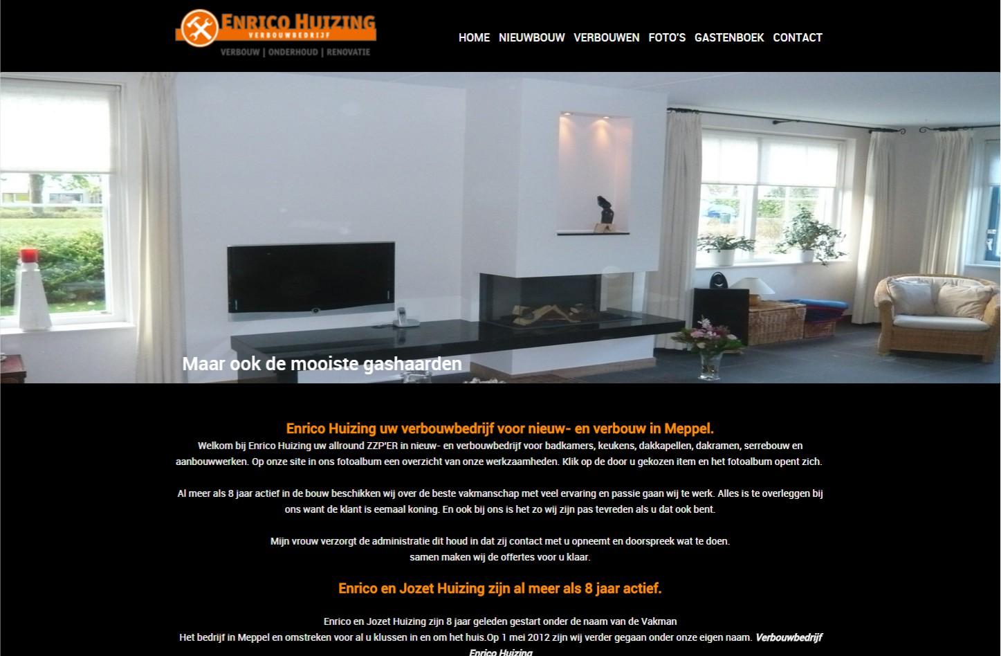 OND Basissite voor € 599,00 compleet geleverd en u kunt direct aan de slag en genieten van uw professionele website. +++www.enricohuizing.nl