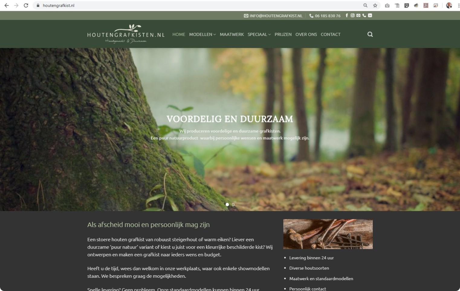 +++www.houtengrafkist.nl