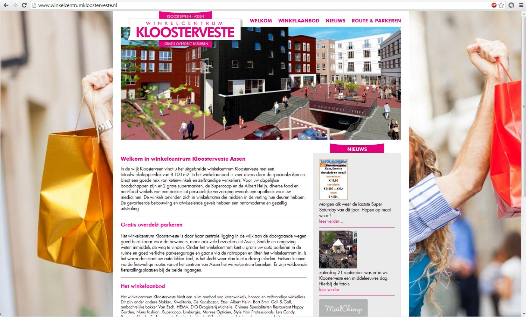 +++www.winkelcentrumkloosterveste.nl